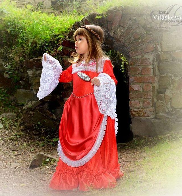 Dobové kostýmy děti - Historické kostýmy cb77a9baeab